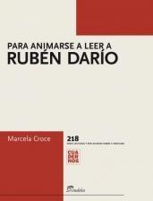 Libro Para Animarse A Leer A Ruben Dario