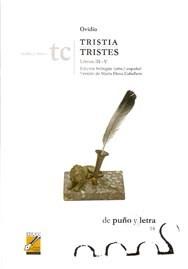 Libro Tristia / Tristes  Libros Iii - V