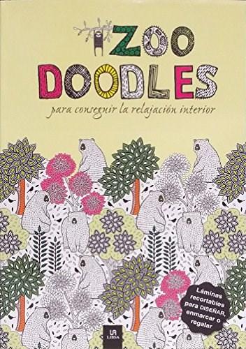 Libro Zoo Doodles Para Conseguir La Relajacion Interior