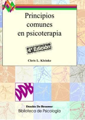 Libro Principios Comunes En Psicoterapia