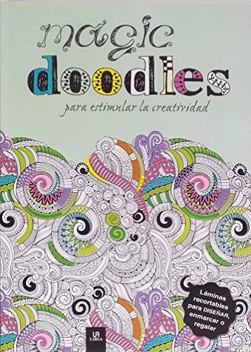 Libro Magic Doodles Para Estimular La Creatividad