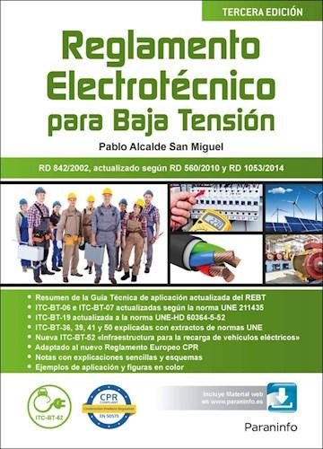 Libro Reglamento Electrotecnico Para Baja Tension